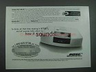 2003 Bose Wave Radio/CD Player Ad - How It Sounds