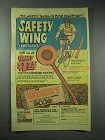 1978 Leaf Whoppers Ad - Bike Equipment Safety Wing