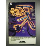 1984 Huffy Pro Thunder Bicycle Ad - Crank Up the Power