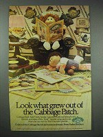 1985 Parker Brothers Cabbage Patch Kids Ad