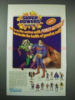 1985 Kenner Super Powers Action Figures Ad - Superman +