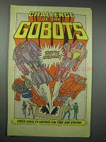 1986 Challenge of the Gobots TV Show Ad