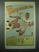 1987 Tang Drink Mix Ad - Soccer Team - Pele