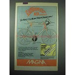 1987 Magna Outrageous 18 Speed Bicycle Ad - So Fast!