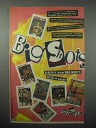 1992 NBA Hoops Series II Basketball Card Ad - Big Shots