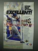 1992 Upper Deck Baseball Card Ad - Ken Griffey, Jr.