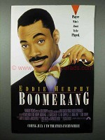 1992 Boomerang Movie Ad - Eddie Murphy - A Player