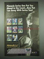 1993 Pinnacle Series Two Baseball Cards Ad