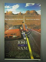 1993 Josh and S.A.M. Movie Ad - Why Run Away from Home
