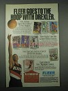 1994 Fleer Basketball Cards Ad - Clyde Drexler