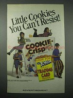 1994 Ralston Cookie-Crisp Cereal Ad - Can't Resist