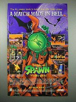 1996 Acclaim Spawn Video Game Ad - Match Made in Hell
