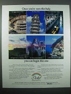 1986 Italy Tourism Ad - Once You've Seen This