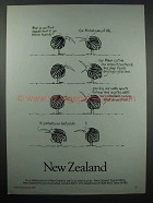 1985 New Zealand Tourism Ad, Appeal to British Tourists