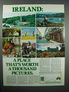 1980 Ireland Tourism Ad - Worth a Thousand Pictures