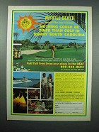 1978 Myrtle Beach South Carolina Tourism Ad - Golf