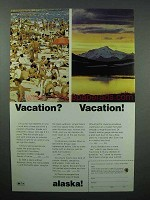 1968 Alaska Tourism Ad - Vacation? Vacation!