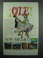 1967 New Mexico Tourism Ad - Ole!
