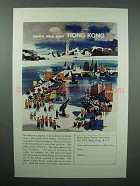 1963 Hong Kong Tourism Ad - Noon Day Gun