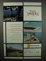 1961 Arkansas Tourism Ad