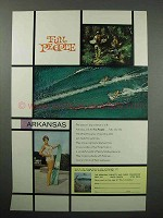 1961 Arkansas Tourism Ad - Fun People