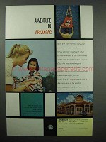 1960 Arkansas Tourism Ad - Adventure