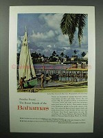 1960 Bahamas Tourism Ad- Hope Town