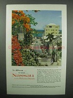 1960 Nassau and The Bahamas Tourism Ad - Different