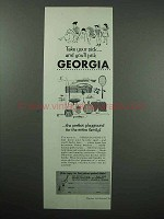 1959 Georgia Tourism Ad - Take Your Pick