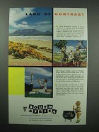1956 South Africa Tourism Ad - Contrast