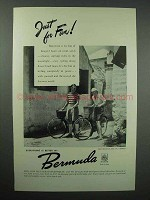 1947 Bermuda Tourism Ad - Just for Fun!