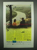 1947 Pennsylvania Tourism Ad - Preferred