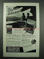 1940 Arkansas Tourism Ad - Discover