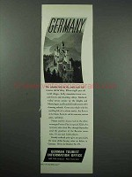1934 Germany Tourism Ad