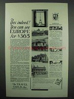 1931 The Travel Guild Ad - See Europe for $365
