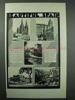 1931 Spain Tourism Ad - Beautiful