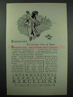 1929 International Exposition Barcelona Spain Ad