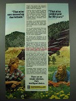 1977 Caterpillar Ad - Mine Messed Up, Yielded Gold