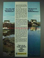 1977 Caterpillar Ad - Tides Could Generate Power