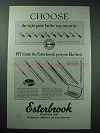 1952 Esterbrook Purse, Slender Fountain Pen Ad