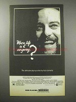 1981 Whose Life is it Anyway Movie Ad - Dreyfuss