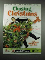 2005 Chasing Christmas Movie Ad - Tom Arnold
