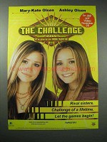 2004 The Challenge Movie Ad - Mary-Kate, Ashley Olsen