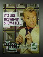 2004 Comedy Central The Graham Norton Effect TV Show Ad
