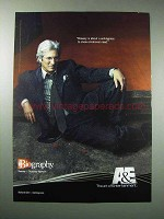 2003 A&E Biography TV Show Ad - Richard Gere