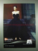 2003 A&E Biography TV Show Ad - Jamie Lee Curtis