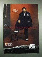 2003 A&E Biography TV Show Ad - Muhammad Ali