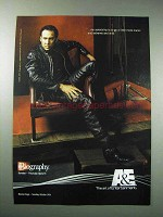 2003 A&E Biography TV Show Ad - Nicolas Cage