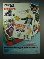 2003 Lizzie McGuire Movie DVD Ad - Big Home-Coming