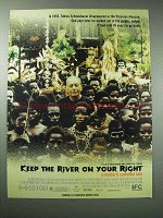 2001 Keep the River on Your Right Movie Ad